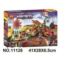 Bela 11128 Lari 11128 Xếp hình kiểu Lego FORNITE Fortnite Fortress Night 11128 Pháo đài đêm 11128. 413 khối