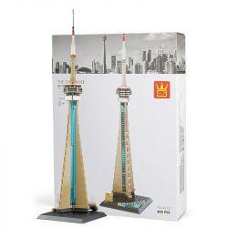 WANGE 4215 Xếp hình kiểu Lego ARCHITECTURE The CN Tower Toronto Tower, Canada Tháp Truyền Hình Toronto, Canada 400 khối