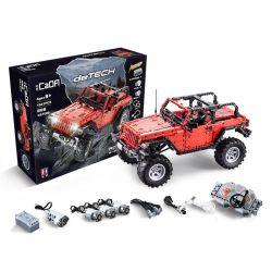 DOUBLEE CADA C61006 61006 MORKMODEL MORK URGE 022010-1 SHENZHEN RAEL ENTERTAINMENT LE-J902 J902 LEJ902 Xếp hình kiểu Lego TECHNIC Jeep Wrangler Rubicon Adventurer Jeep 牧 人 罗宾 1 8 Xe Jeep 1941 khối điề