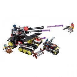 Enlighten 2715 Qman 2715 Xếp hình kiểu Lego THE HIGH-TECH ERA Technology Era I Laser Laser Gun Xe Tăng Công Nghệ Cao 399 khối