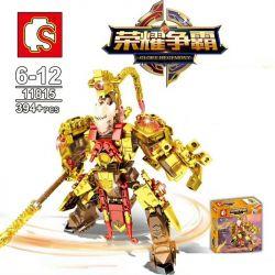 Sembo 11815 (NOT Lego King of Glory Hegemony Glory Hegemony ) Xếp hình Tôn Ngộ Không 394 khối