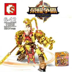 SEMBO 11815 Xếp hình kiểu Lego KING OF GLORY HEGEMONY Monkey Wang Sun Wukong Tôn Ngộ Không 394 khối