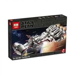 LARI 11431 LEPIN 05159 Xếp hình kiểu Lego STAR WARS Tantive IV Tantevi 4 Boat (Luxury Collection) Tàu Vũ Trụ Tantive IV 1768 khối