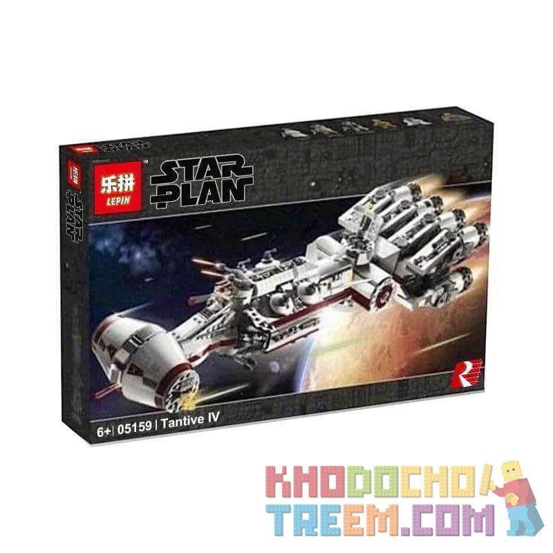 NOT Lego STAR WARS 75244 Tantive IV Tantevi IV Spacecraft (Deluxe Collector's Edition) , LARI 11431 LEPIN 05159 Xếp hình Tàu Vũ Trụ Tantive IV 1768 khối