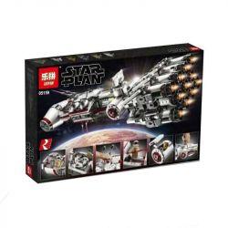 NOT LEGO Star wars 75244 Tantive IV, LARI 11431 Lepin 05159 Xếp hình Tàu vũ trụ Tantive IV 1768 khối