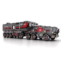 SEMBO 107009 Xếp hình kiểu Lego THE WANDERING EARTH Cargotruck-Transport Truck CN171-11 Box Car Car CN114-03 Large Xe Tải Vận Chuyển 3712 khối
