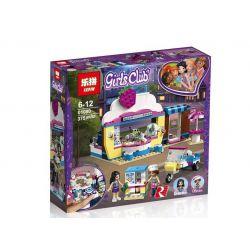 Lepin 01080 (NOT Lego Friends 41366 Olivia's Cupcake Cafe ) Xếp hình Cửa Hàng Cupcake Cafe Của Olivia 335 khối