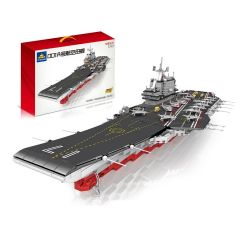 Kazi KY10003 10003 Xếp hình kiểu Lego CREATOR 001A Air Mother Collection Series 1 340 Tàu Sân Bay 2126 khối