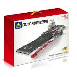 Kazi KY10003 10003 Xếp hình kiểu Lego CREATOR Tàu Sân Bay 2126 khối