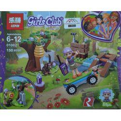 Lepin 01082 Bela 11196 (NOT Lego Friends 41363 Mia's Forest Adventures ) Xếp hình Cuộc Phiêu Lưu Trong Rừng Của Mia 134 khối