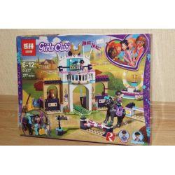 Lepin 01077 Bela 11202 (NOT Lego Friends 41367 Stephanie's Obstacle Course ) Xếp hình Khóa Tập Cưỡi Ngựa Của Stephanie 337 khối
