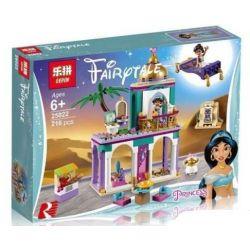 Lepin 25022 Lele 37104 (NOT Lego Disney Princess 41161 Aladdin's And Jasmine's Palace Adventures ) Xếp hình Aladanh Đón Công Chúa Bằng Thảm Thần 193 khối