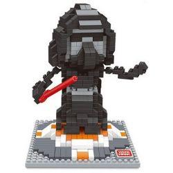 Wise Hawk 2404 Nanoblock Star wars Nhân Vật Vida Trong Star Wars Xếp hình 580 khối