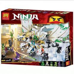 Bela 11164 Lari 11164 BLANK 80019 82201 LELE 31186 LEPIN 06099 SHENG YUAN SY 1279 Xếp hình kiểu THE LEGO NINJAGO MOVIE The Ultra Dragon Legacy Shenlong LEGACY The Ultra Dragon 951 khối