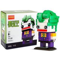 Lepin 43018 Decool 6819 Bela 10765 (NOT Lego BrickHeadz 41588 The Joker ) Xếp hình Gã Hề Độc Ác 151 khối