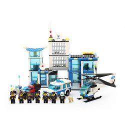 WANGE 6540 Xếp hình kiểu Lego CITY Policemen Police Station Đồn Cảnh Sát 882 khối
