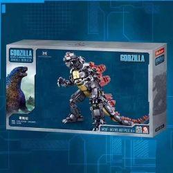 SLUBAN M38-B0783 B0783 0783 M38B0783 38-B0783 Xếp hình kiểu Lego GODZILLA Godzilla:King Of The Monsters Vua quái vật Godzilla 697 khối