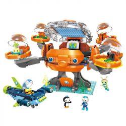 Enlighten 3716 (NOT Lego Octonauts Octonauts ) Xếp hình Tàu Ngầm Bạch Thuộc 921 khối