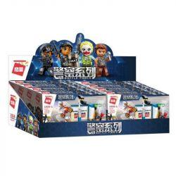 Enlighten 1926 1926-1 1926-2 1926-3 1926-4 Qman 1926 1926-1 1926-2 1926-3 1926-4 KEEPPLEY 1926-1 1926-2 1926-3 1926-4 Xếp hình kiểu Lego POLICE Battle Force Đội Cảnh Sát Đặc Nhiệm gồm 4 hộp nhỏ 569 kh