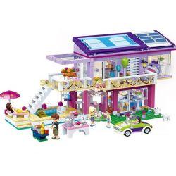 Gudi 9607 (NOT Lego Friends Angela's Party ) Xếp hình Bữa Tiệc Của Angela 808 khối