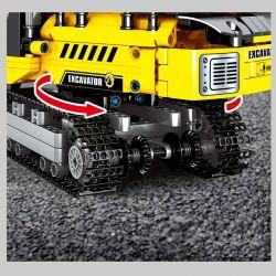 SEMBO 701802 Xếp hình kiểu Lego TECHNIC TECHINQUE Máy xúc 841 khối