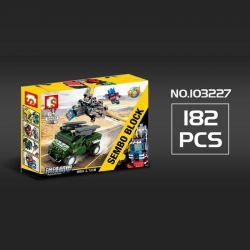 SEMBO 103225 103226 103227 103228 Xếp hình kiểu Lego TRANSFORMERS Mecha Of Steel Người máy biến hình kết hợp 7 loại ô tô thành robot gồm 4 hộp nhỏ lắp được 8 mẫu 777 khối