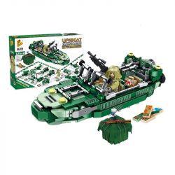 PanlosBrick 633045 Panlos Brick 633045 Xếp hình kiểu Lego PUBG BATTLEGROUNDS Jedi Lifeboat Thuyền cứu sinh Jedi 580 khối