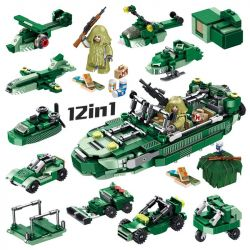 PanlosBrick 633045 Panlos Brick 633045 Xếp hình kiểu Lego PUBG BATTLEGROUNDS Battlegrounds LifeBoat Jedi Survival Jedi Lifeboat Thuyền Cứu Sinh Jedi 580 khối