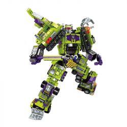 SEMBO 103081 103082 103083 103084 103085 103086 Xếp hình kiểu Lego TRANSFORMERS Mecha Of Steel Người máy biến hình kết hợp 6 mẫu xe phương tiện xây dựng gồm 6 hộp nhỏ lắp được 7 mẫu 709 khối