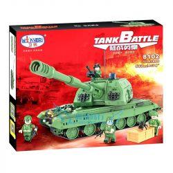 Winner 8102 Xếp hình kiểu Lego TANK BATTLE TankBattle Xe Tăng Chiến Đấu 533 khối