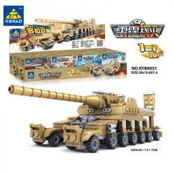 Kazi KY84031 84031 Xếp hình kiểu Lego MILITARY ARMY Thunder Fire cuộc chiến chấn động: khẩu siêu pháo và 16 vũ khí mạnh mẽ 544 khối