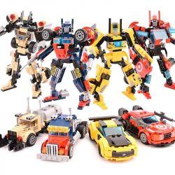 GUDI 8708 8708A 8708B 8708C 8708D Xếp hình kiểu Lego TRANSFORMERS Transform Series Deformation Series 4 Optimus Diamond, Diamond, Sky Diamond, Lead, Gang, Người Máy Biến Hình 4 Người Máy Của đoàn Quân