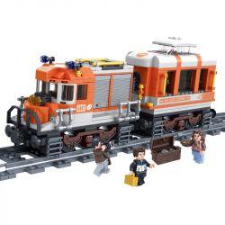 Winner 5087 (NOT Lego Trains Train ) Xếp hình Tàu Hỏa Đường Dài 473 khối