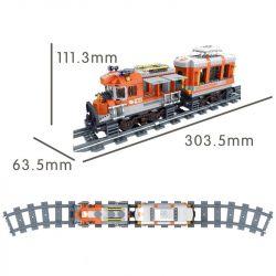 Winner 5087 Xếp hình kiểu Lego TRAINS TRAIN tàu hỏa đường dài 473 khối