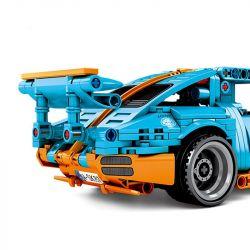 SEMBO 701502 Xếp hình kiểu Lego TECHNIC Porscho Xe Đua Thể Thao 517 khối có động cơ kéo thả