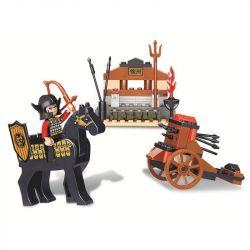 Sluban M38-B0271 (NOT Lego Castle ) Xếp hình Tam Quốc - Tiến Công Nanzheng 70 khối