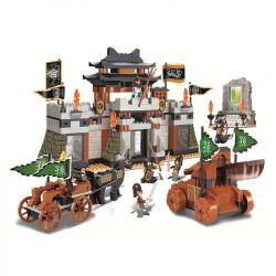 Sluban M38-B0265 (NOT Lego Castle ) Xếp hình Tam Quốc - Trận Chiến Kỳ Hoa 445 khối