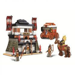 SLUBAN M38-B0263 B0263 0263 M38B0263 38-B0263 Xếp hình kiểu Lego CASTLE Tam Quốc - Chiến Thắng 233 khối