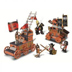 SLUBAN M38-B0262 B0262 0262 M38B0262 38-B0262 Xếp hình kiểu Lego CASTLE Tam Quốc - Quyết Chiến 232 khối