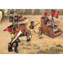 Sluban M38-B0262 B0262 0262 Xếp hình kiểu LEGO Castle Tam Quốc - Quyết Chiến 232 khối