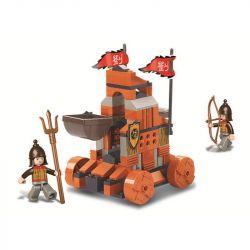 Sluban M38-B0261 B0261 0261 Xếp hình kiểu LEGO Castle Tam Quốc: Máy bắn đá 131 khối