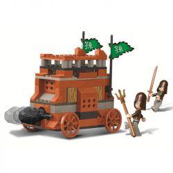 SLUBAN M38-B0260 B0260 0260 M38B0260 38-B0260 Xếp hình kiểu Lego CASTLE Tam Quốc: Xe Công Thành 138 khối