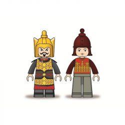 Sluban M38-B0259 B0259 0259 Xếp hình kiểu LEGO Castle Tam Quốc: Xe Ngựa Của Lưu Bị 74 khối