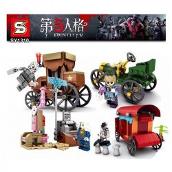 SHENG YUAN SY 1310 SY1310 1310 SY1310A 1310A SY1310B 1310B SY1310C 1310C SY1310D 1310D Xếp hình kiểu Lego IDENTITY V 5th Person Nhân Vật Trong Identity V gồm 6 hộp nhỏ 394 khối