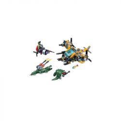 Bela 5060 (NOT Lego Crocodile Special Forces Crocodile Special Forces ) Xếp hình Đội Đặc Nhiệm Cá Sấu 391 khối