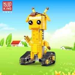 MOULDKING 13044 Xếp hình kiểu Lego WALKING BRICK Walking Brick Geoffrey-Long Dee Fang Hengbao Fangmei Flying Deer Jefrui Hươu Cao Cổ điều Khiển Từ Xa 390 khối điều khiển từ xa