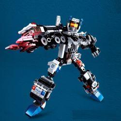 SLUBAN M38-B0635 B0635 0635 M38B0635 38-B0635 Xếp hình kiểu Lego TRANSFORMERS Special Police War God 6 In 1 SWAT God Of War 6 Trong 1 384 khối