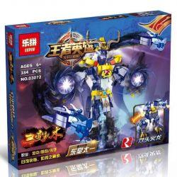 LEPIN 03072 Xếp hình kiểu Lego KING OF GLORY HEGEMONY King Hero Pathogence Evil Emperor Is Too Long Phá Hủy Nhật Thực Của Đông Hoàng Thái Cực Hai Thay đổi 384 khối