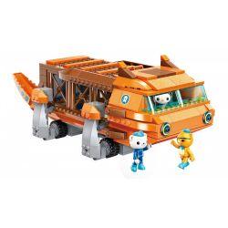 Enlighten 3706 Qman 3706 Xếp hình kiểu Lego OCTONAUTS Seabed Small Column Big Fever Thuyền Big Salamander 378 khối