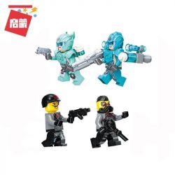 Enlighten 3402 Qman 3402 KEEPPLEY 3402 Xếp hình kiểu Lego POWER SQUAD Shadow Supercar Siêu xe bóng 371 khối